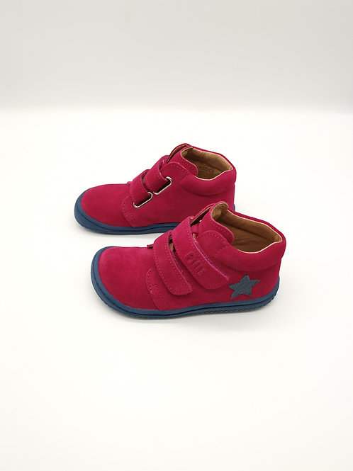Filii CHAMELiiON velours leather pink velcro