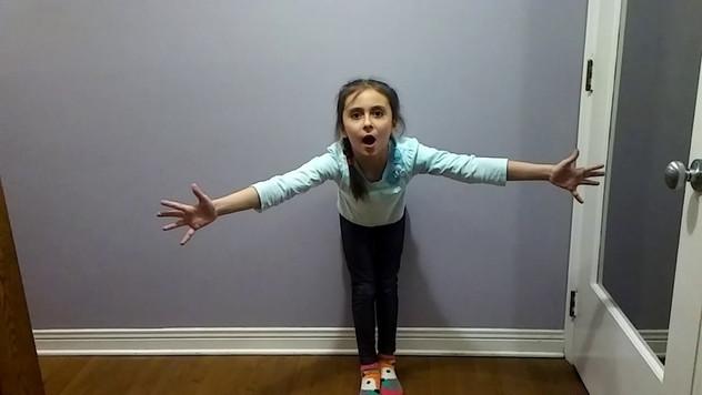 Олеся Попович, 7 лет