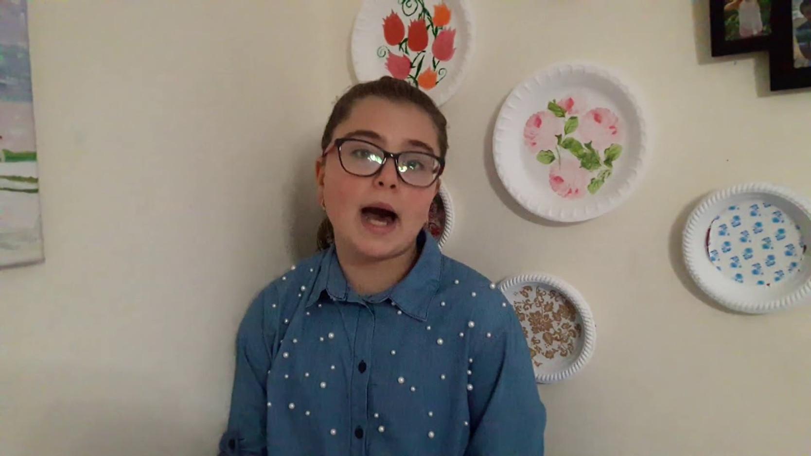 Мариам Хуссейн, 11 лет