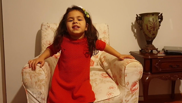 Азизе Мерием Чакылмаз, 4 года