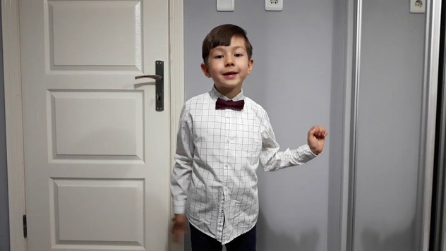Мелих Ишлек, 5 лет