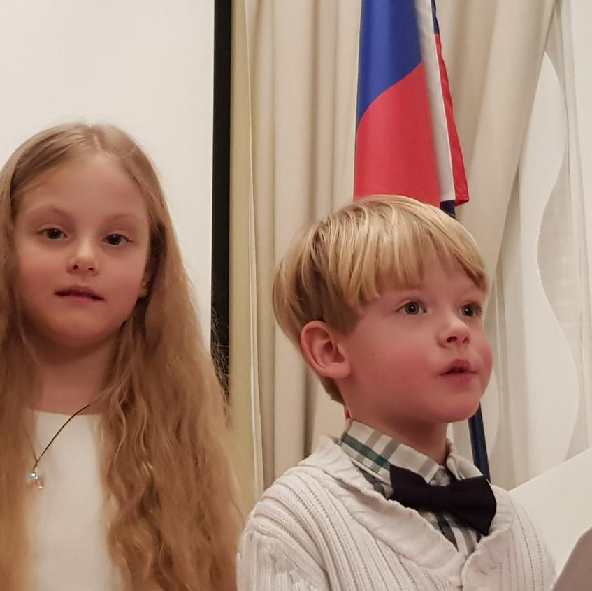 конкурс чтецов Александра и Никита