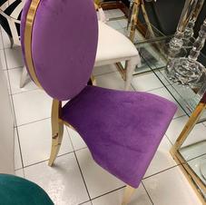 Dior Chair purple