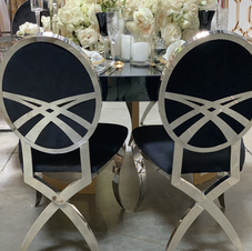 Camille silver chairs_ available in gree