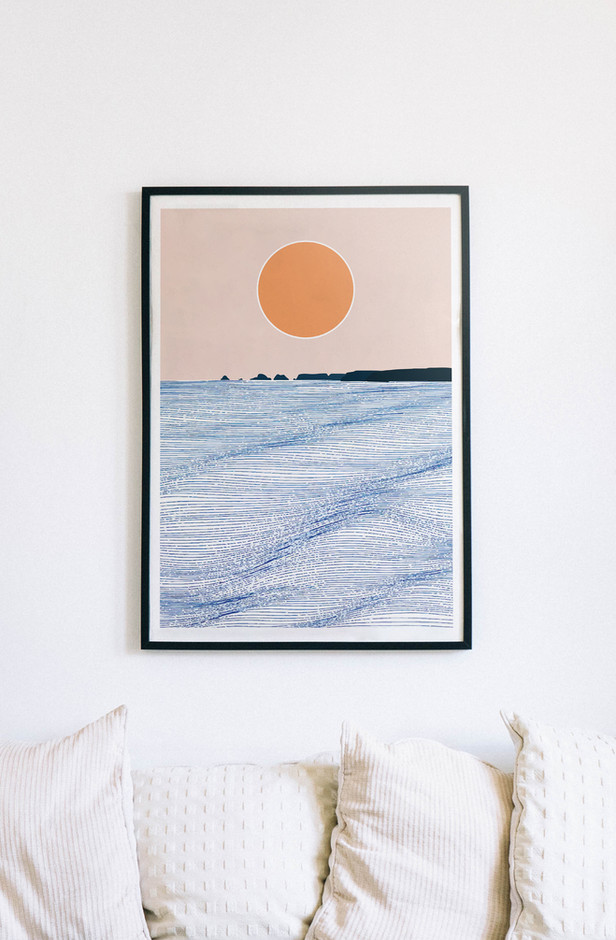 Sunset in Goulien