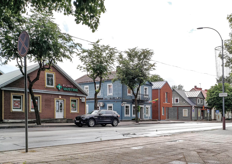 gatvė iš akštės