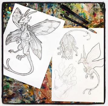 #drawing in #openstudio #4bpencil