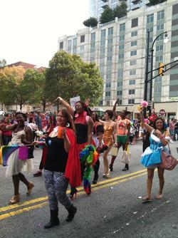 spinArella Atlanta Pride Parade
