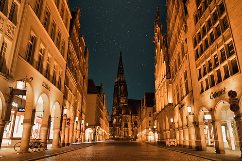 MUENSTER AT NIGHT