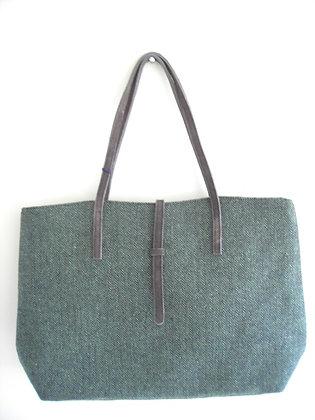 LARGE BAG / SHOPPER (green)