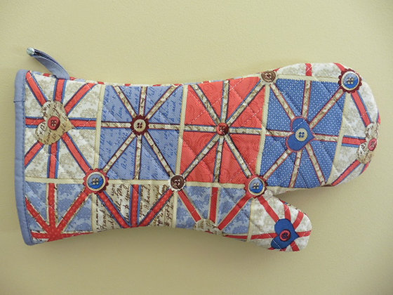 OVEN GLOVE ( union flag )