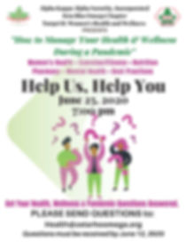 Save the Date - How to Manage Your Healt