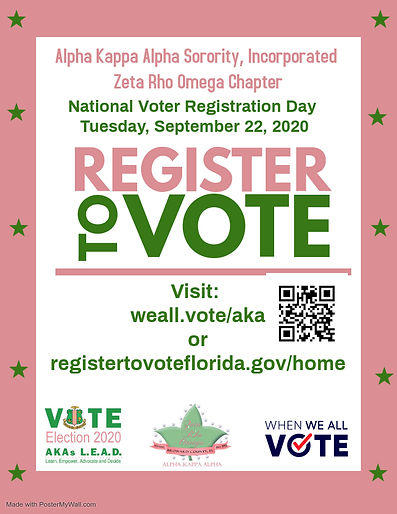 Copy of Voter Registration Flyer - Made