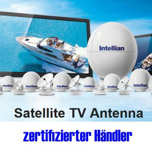 Zertifizierter Intellian Händler, SAT Spiegel für Schiff und Boot