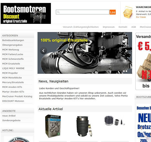 www.mercruiser-shop.at original MerCruiser Ersatzteile zu fairen Preisen