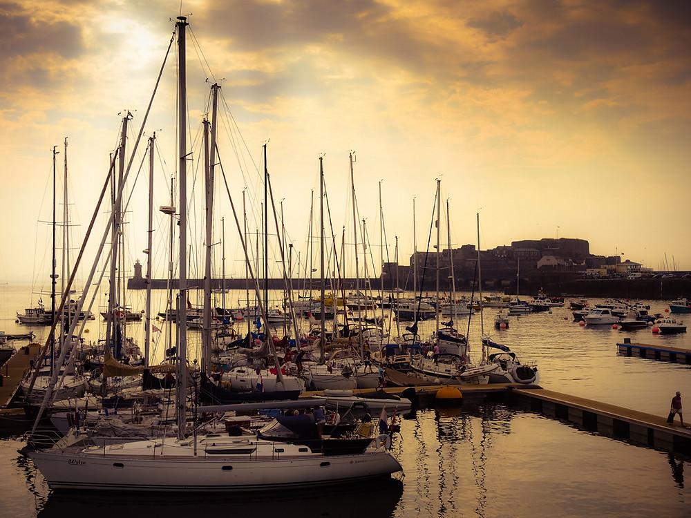 Guernsey Port courtesy of @guernseyweb