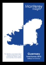 Guernsey Fund Survey 2012 Published!