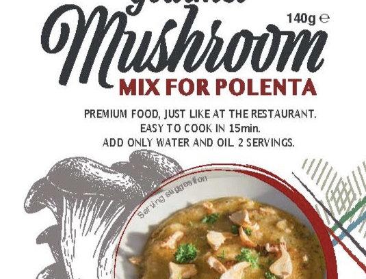 Gourmet Mushroom Polenta