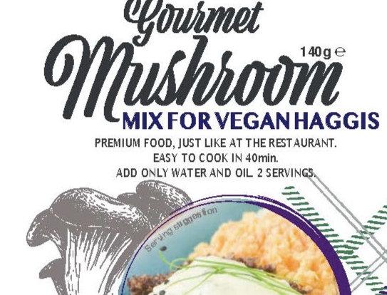 Mushroom Vegan Haggis