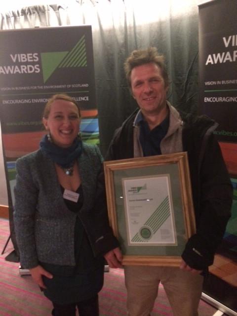 Finalist for Circular Economy at Vibes Awards