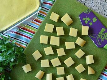 Beyond soy: burmese chickpea tofu