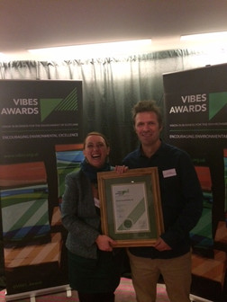 Finalist for Circular Economy at Vibes Awards, the Scottish Environmental Oscars