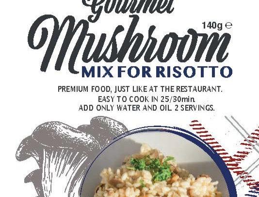 Mushroom Italian Risotto