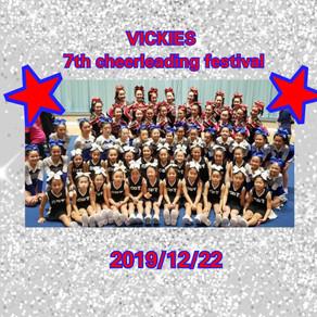 ★VICKIES 7th Cheerleading Festival★