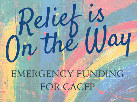 Emergency Funding for CACFP On the Way!