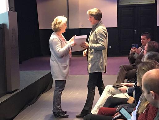 Esther Bakker-van Gijssel wint Hanna Oorthuysprijs