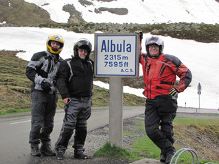 Riding the Alps with Blue Rim Tours