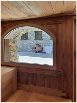 Sauna Villamour - La salle