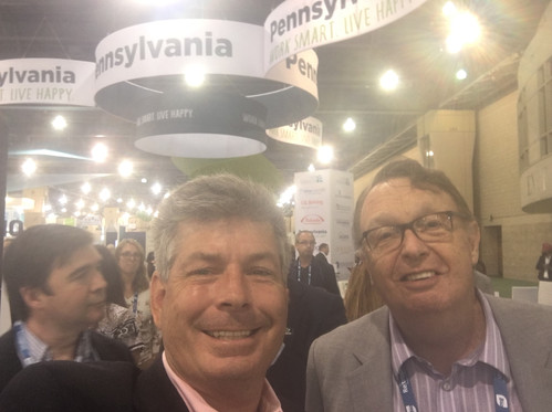 Earle & Don at BIO 2019 Convention Center