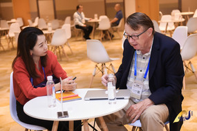 Earle With Potential Chinese Investor & Partner at CBIIC 2019