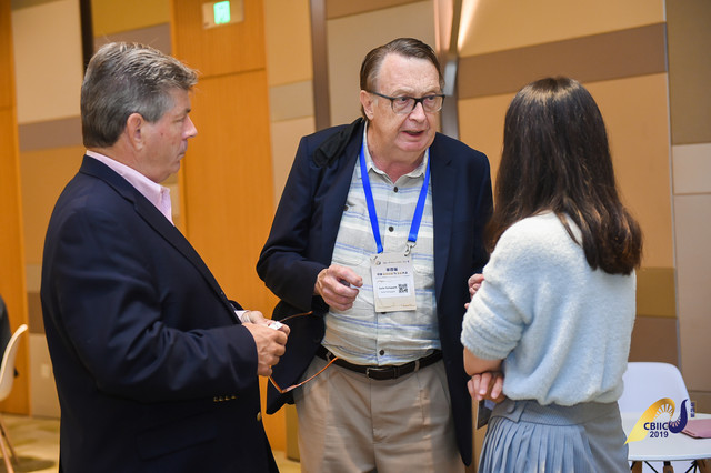Earle and Don With Potential Chinese Investor & Partner at CBIIC 2019