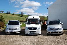 Chauffeur Tour Vehicles