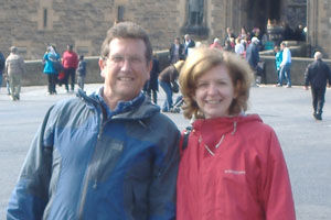 Rachel & Peter Kemp