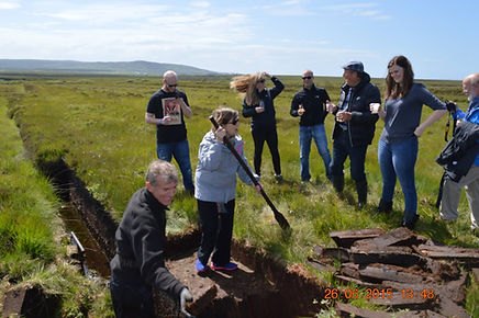 Peat Cutting on Islay