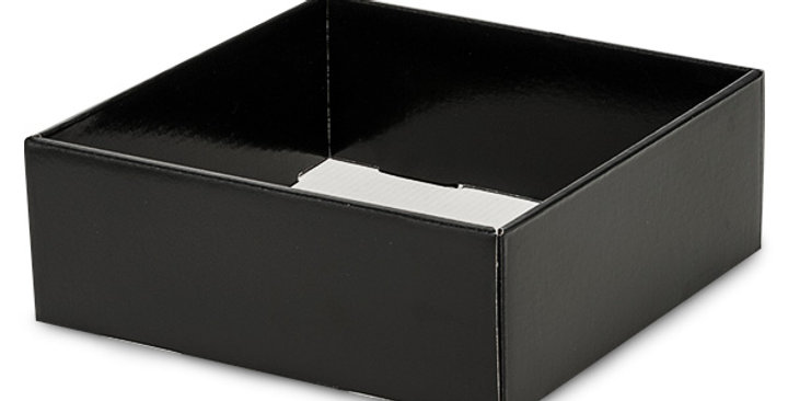 Black Open Faced Gift Box