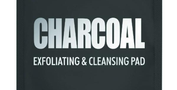 Charcoal Exfoliating + Cleansing Pad