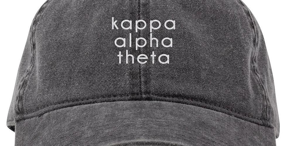 Kappa Alpha Theta Hat