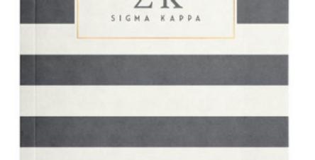 Sigma Kappa Notebook