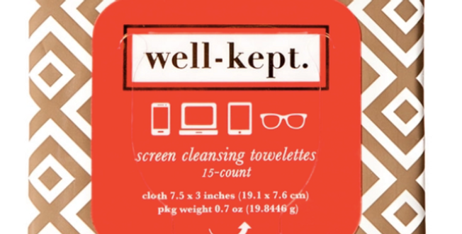 Well Kept Towelettes