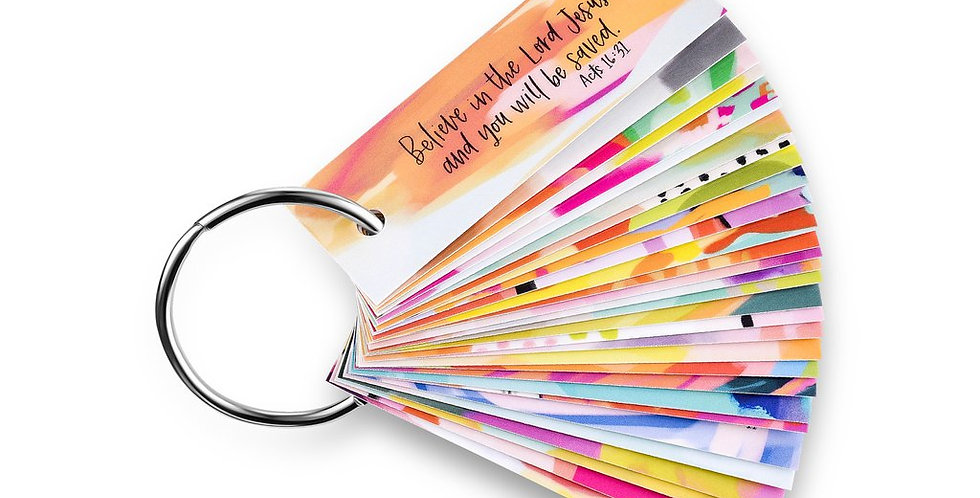 Travel Size Scripture Cards