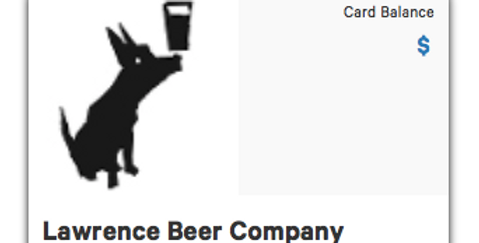 Lawrence Beer Company Gift Card