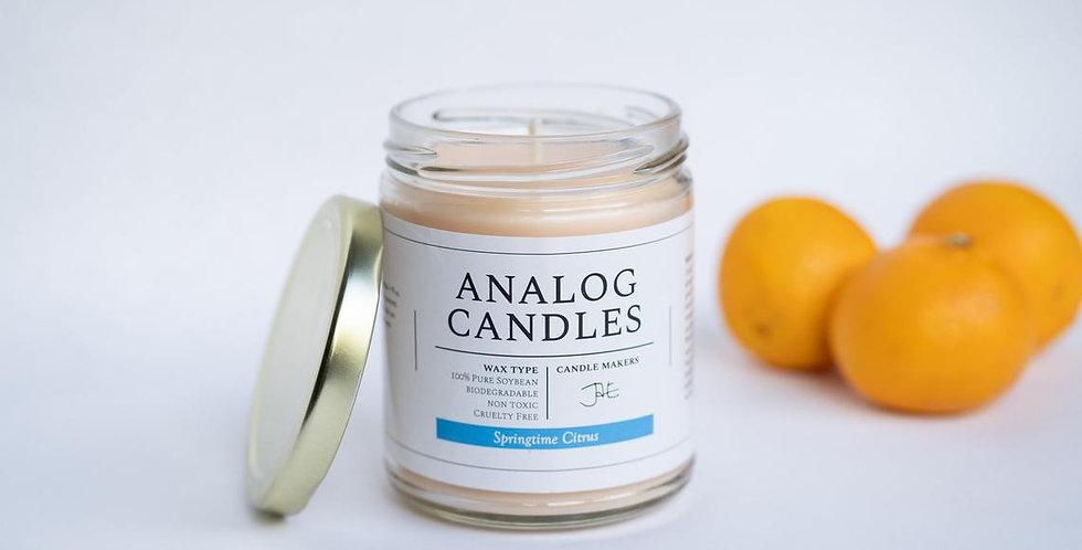 """Analog """"Springtime Citrus"""" Candle"""