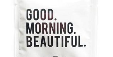 Good Morning Beautiful Wipe