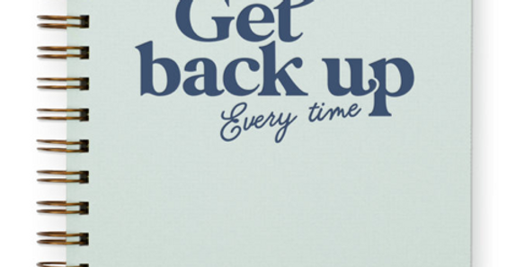 Get back up Journal