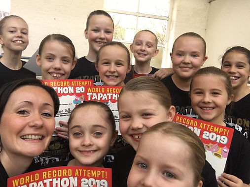 Pendle Academy's 2019 Tapathon event for
