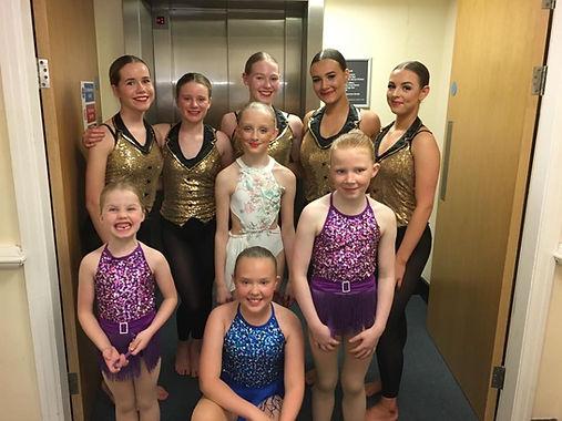 Burnley's Gotta Dance performance 2019.J